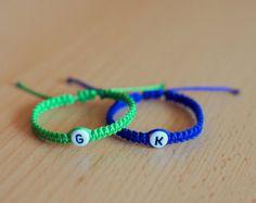 Twin Baby Bracelet Bracelets For Twins Initial Letter Personalized Name Newborn Boy