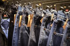Jeans, Calças De Brim, Calças, Azul