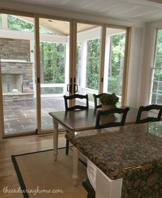 Turning Our Back Porch Dreaming Into A Reality – Part 3 (Great French doors to porch)