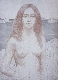 All sizes | Alexandre Séon | La sirène de la mer, 1897