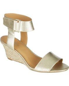Nine West Womens Riley Wedge Sandals