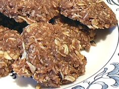 LOW CARB NO-BAKE COOKIES - Linda's Low Carb Menus & Recipes