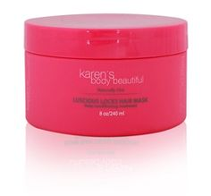 Karen's Body Beautiful Luscious Hair Mask - one of the best deep conditioners ever