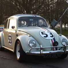Herbie the Love Bug. Loved the old school black and white on Disney when I was little :)