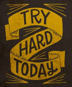 Try Hard by Jay Roeder, via Flickr