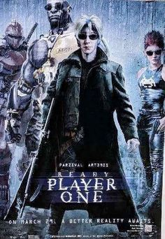 The Matrix Ready Player One Poster Mash Up.  See all 12