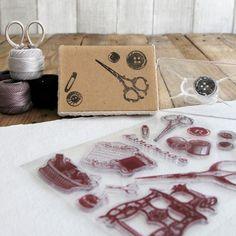 """Pack de sellos """"Costura"""". A la venta en: www.mrwonderfulshop.es"""