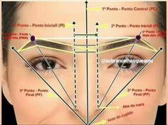 Eyebrow Makeup Tips, Permanent Makeup Eyebrows, Eye Makeup Steps, Beauty Makeup, Eyebrows For Face Shape, Mircoblading Eyebrows, Perfect Eyebrows, Comic Makeup, Eyebrow Design