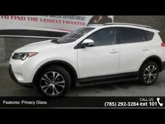 2015 Toyota RAV4 Limited - Lewis Toyota - Topeka, KS 66614  New In Stock! Do you want it all? Well, with this awesome Limited, you are going to get it! All Around gem!! Real gas sipper!!! 29 MPG Hwy!! This considerable SUV, with its grippy AWD, will handle anything mother nature decides to throw at you**
