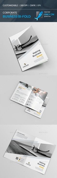 Bi-Fold Brochure Template Vector EPS, AI. Download here: http://graphicriver.net/item/bifold-brochure/15900514?ref=ksioks