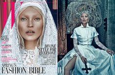 Good Kate, Bad Kate (Moss) for W Magazine