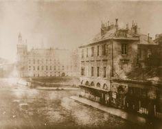 La place du Châtelet à Paris en 1850