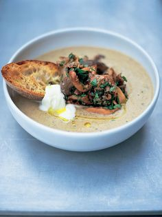 Mushroom Soup | Jamie Oliver