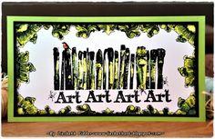 Liesbeth's Arts & Crafts: Art Journey Challenge 59 : 50 % wit !