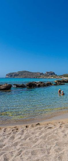 Falassarna beach in Chania