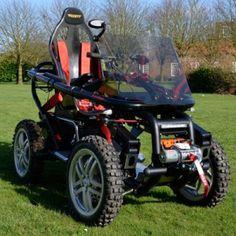All Terrain Wheelchair, man is this a Sweet Ride, or what?!?!?