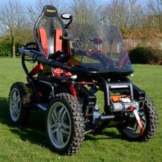 All Terrain Wheelchair, man is this a Sweet Ride, or what?!?!?