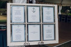 Nautical Seating Chart / candescentoccasions.bc@gmail.com