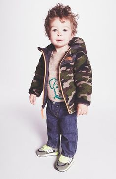Too cute! Love the idea of getting a matching fall army jacket for the little man!