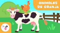 Farm animals for kids - Vocabulary fo kids Farm Animals For Kids, Learn Espanol, Farming Technology, Easter Specials, Child Smile, The Donkey, Farm Theme, Educational Videos, Stories For Kids
