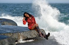 Nina Cacciatore, Exterieurs, 12820   - This photo is copyrighted by the photographer and may not be used without permission. COPYRIGHT : Cirologie.com Cacciatore, Cover Up, Collections, Beach, Fashion, Photography, Moda, The Beach, Fashion Styles