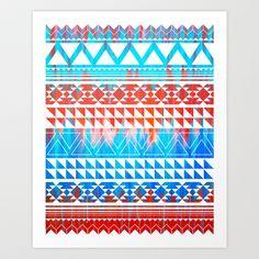 Just be Art Print by Katrina Berlin Benco as VerityMaddox - $15.00