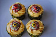 Juli Jacklin's Cupcakes: Zombie Eyeballs and Bloody Bite Cupcakes