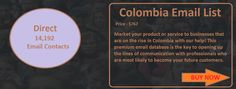 COLOMBIA EMAIL LIST | Ceo Email List
