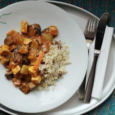 White Curry - Tibits - Vegetarian Restaurant Bar Take Away Catering