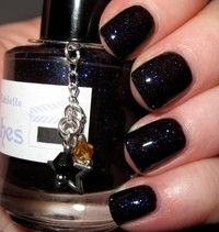 """Oubliette glitter nail polish 15 mL (.5 oz) from the """"You Have No Power Over Me"""" Collection"""