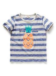 Boys Pineapple Stripe Tee