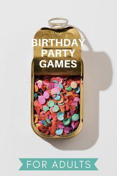 27 Birthday Ideas, 50th Birthday Party Games, Diy Party Games, Birthday Games For Adults, Party Favors For Adults, 41st Birthday, Adult Party Games, Adult Birthday Party, Adult Games