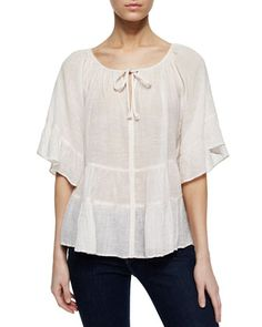 Ristabelle Opulesence Gauze Top at CUSP.