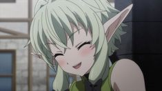 Goblin Slayer - A young priestess has formed her first adventuring party, but almost immediately they find themselves in distress. Its the Goblin Slayer who comes to their rescue—a man whos dedicated his life to the extermination of all goblins, by any m Goblin, The Twelve Kingdoms, Anime Elf, Girl Elf, Elfa, By Any Means Necessary, Image Fun, Kawaii, Tsundere