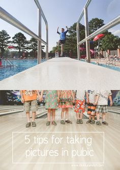 5 tips for taking pictures in public via Click it Up a Notch