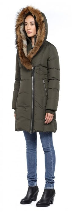 What I'm Wearing: Lands' End Chevron Down Coat | Winter, Coats and ...