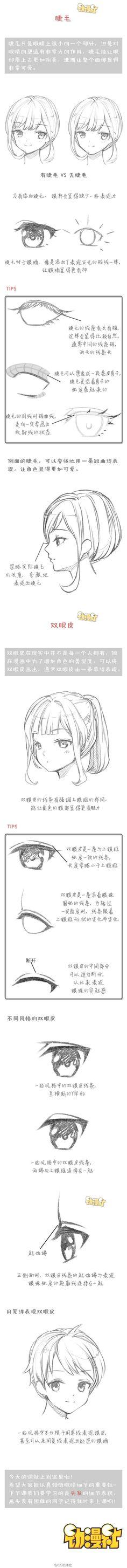 西瓜Ann采集到漫画教程(18图)_花瓣动漫