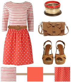 LOVE stripes and polka dots together