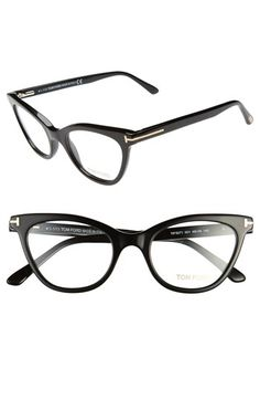 435d520e78 Tom Ford 49mm Cat Eye Optical Glasses (Online Only)