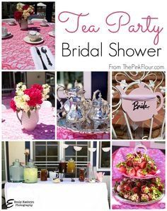 tea party bridal shower a modern spin on a traditional theme from the pink flour