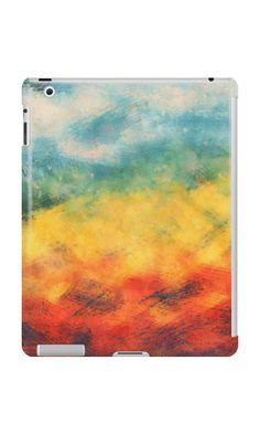 """""""Multi-colored art"""" iPad Cases & Skins by floraaplus 
