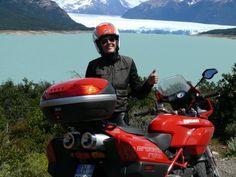"""Valeria in Argentina,near the Perito Moreno Glacier,""""Dreams Road 2009""""!"""