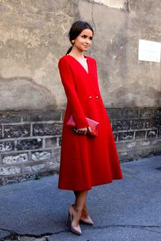Miroslava Duma, Yes we love her...  #Zalando #Red