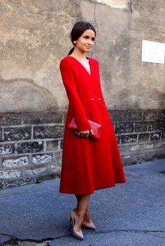 Miroslava Duma, Yes we love her...  #Zalando #Red