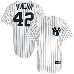 Mariano Rivera New York Yankees Majestic Replica Player Jersey - White 8479614c9c2b1