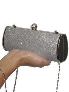 ICE Metallic glitter diamante #clutch $30