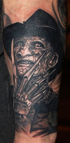 id like a Freddy Krueger tattoo