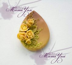 Rose pendant.