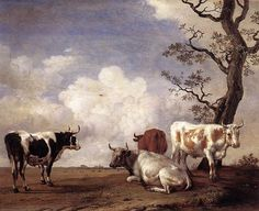 Paulus Potter - Four Bulls - WGA18208 - Paulus Potter - Wikipedia, the free encyclopedia