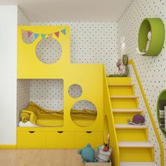 33 Ideas kids room yellow bed girls bedroom for 2019